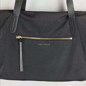 3be264fe2d Cole Haan Bags | Parker Nylon Leather Tote Bag Handbag | Poshmark